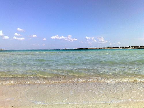 il mare e le spiagge delle marine di nard