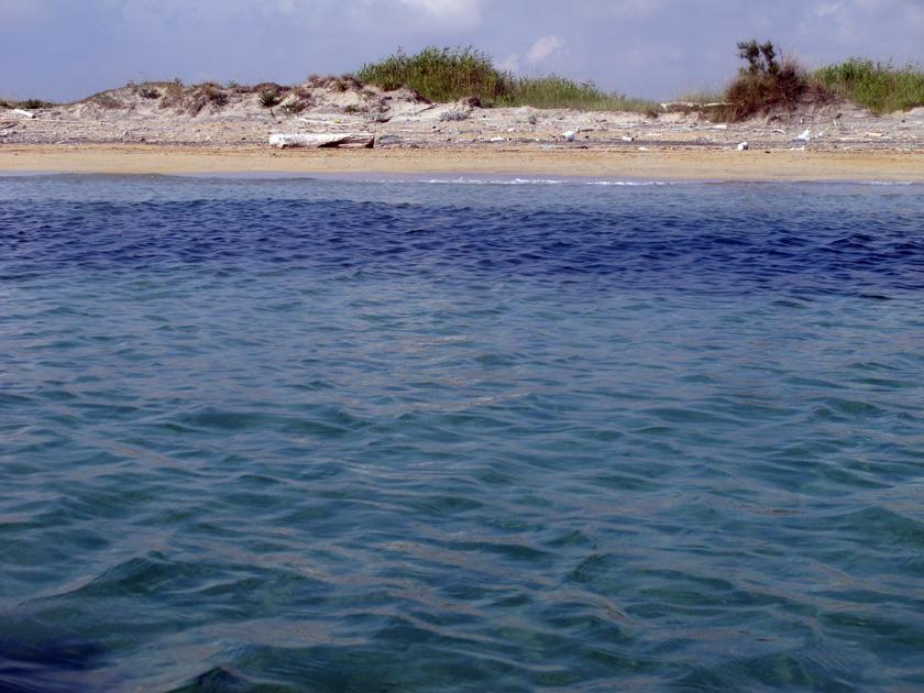 Uno scorcio della spiaggia di Casalabate (fonte foto TRnews)
