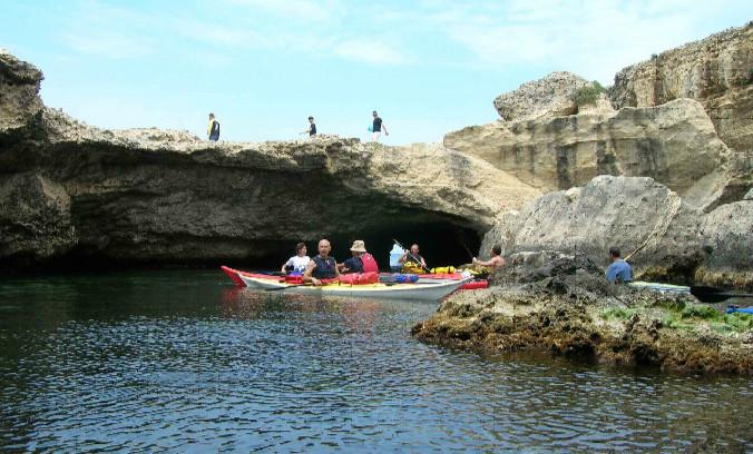 dettaglio grotta san foca
