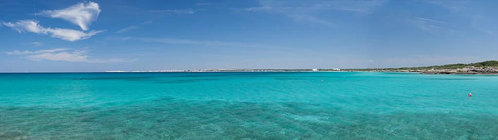 Punta della suina mare